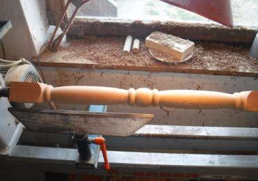 Balkonsprossen in Lärche