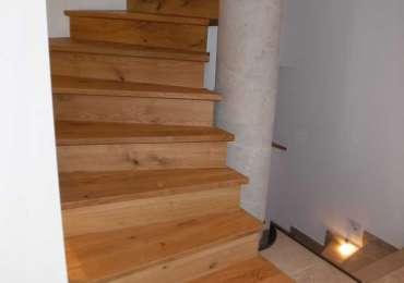 Treppe in Eiche
