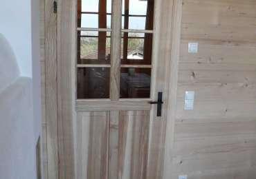 Zimmertüre in Esche